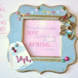 Dear Lizzy: Spring Has Sprung Frame!