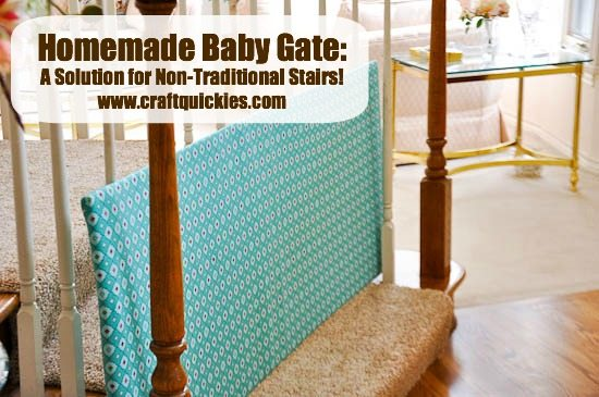 Three Diy Fabric Baby Gates To Contain Your Kinder