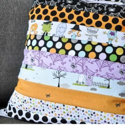 Too Cute to Spook Halloween Pillow Tutorial