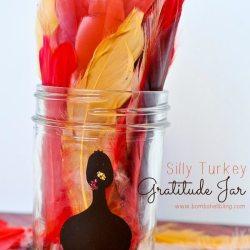 Turkey Gratitude Jar
