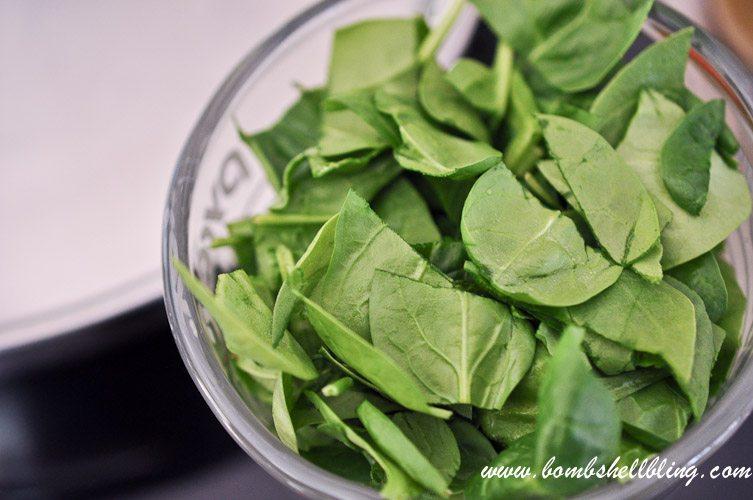 Creamy Spinach Tomato Tortellini-3