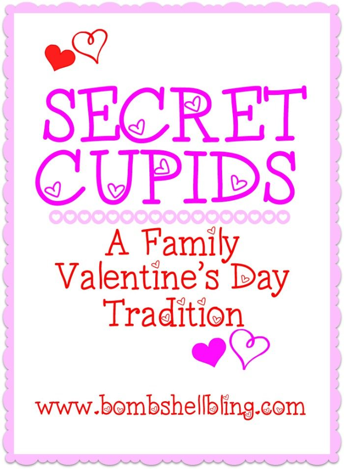 Secret Cupids: A Valentine's Day Family Tradition