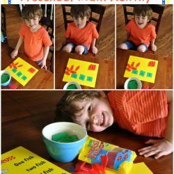 Dr. Seuss Inspired Preschool Math Activity