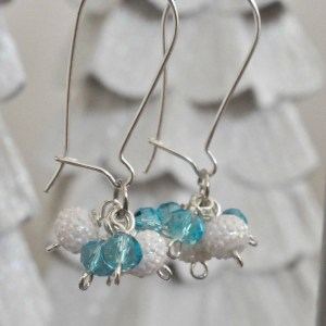 Frozen Inspired Dangle Cluster Earring Tutorial