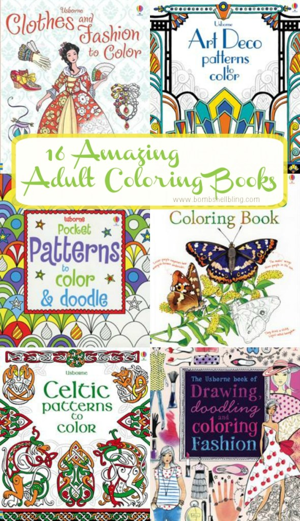 Adult coloring books - I'm obsessed!