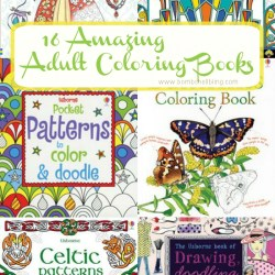 16 Awesome Adult Coloring Books