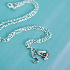 FIVE MINUTE Nautical Charm Necklace