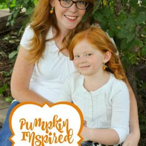 Pumpkin Inspired Earrings Tutorial - So cute for Fall