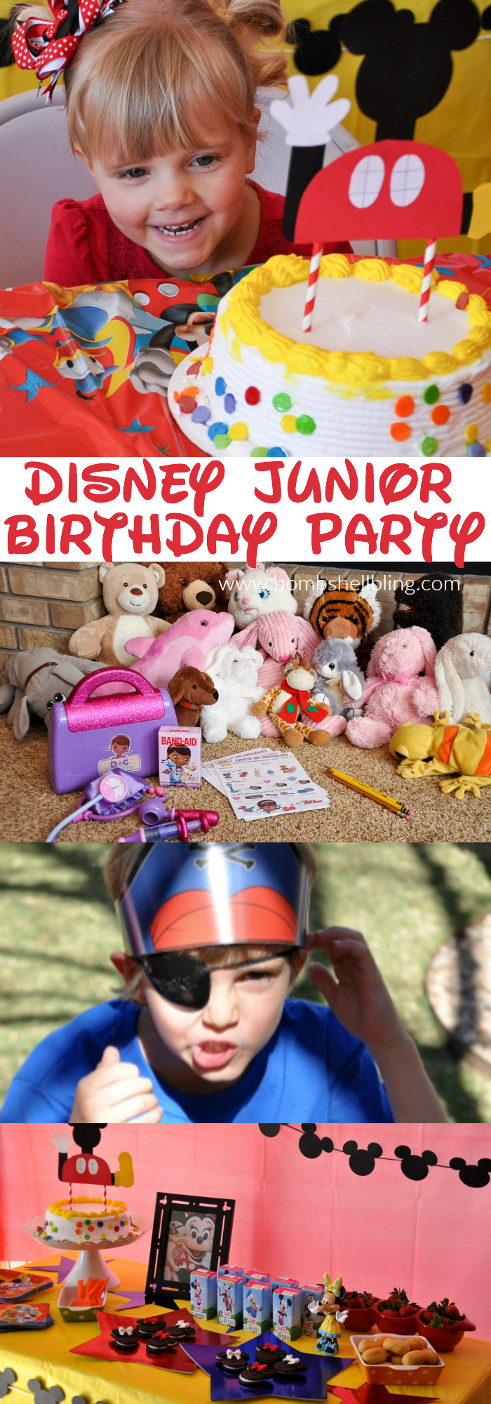 Disney Jr Birthday Party by Bombshell Bling