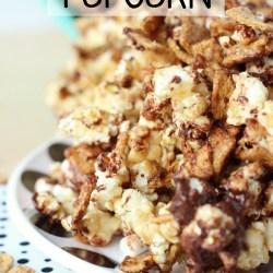 S'more Caramel Popcorn