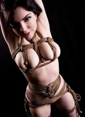 rope bondage shibari dress fetish