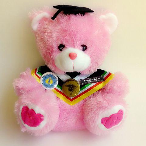 bosku bear pink big