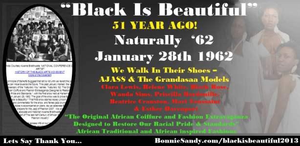 Black is beautiful -grandasaa Model -2013- bonnie sandy