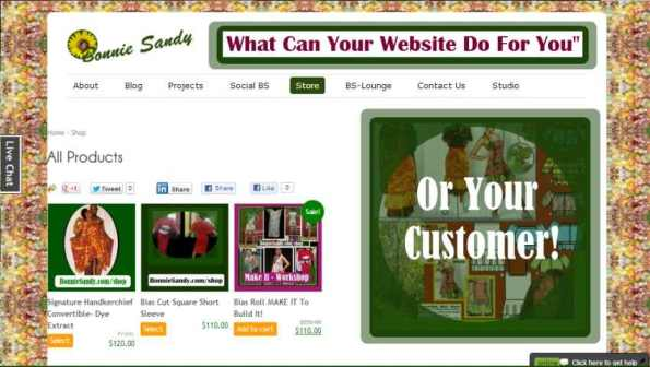 What can you website do for you!