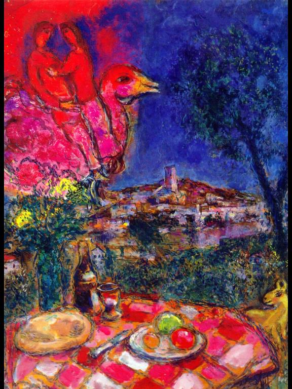 Marc chagall in saint paul de vence bonvoyageurs for Chagall st paul de vence