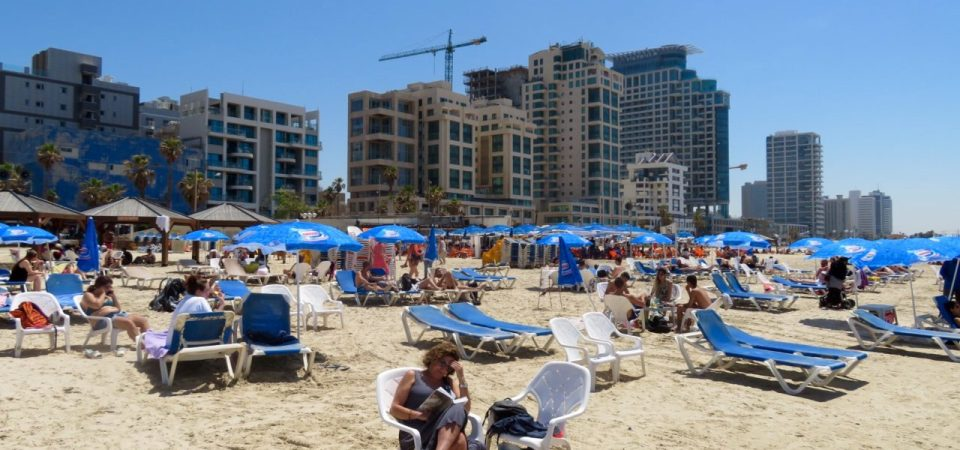 The multi-faceted and beguiling Tel Aviv Beach !