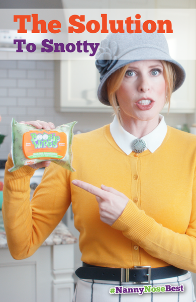 Experienced moms and nannies will be the first to tell you that nothing soothes noses better than a Boogie Wipe. Tissue, paper towels, or even your sleeve are savage on a little one's skin - especially when you're wiping 20, 30, or even 40 times per day. Unlike other wipes, Boogie wipes have no harsh or drying chemicals. The natural saline dissolves mucus without irritation - thanks to Vitamin E, aloe and chamomile. Click here to learn more and download a coupon.