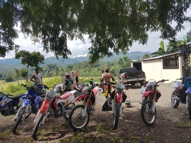 Book2wheel.com Honda CRF 250cc bike tour Philippines