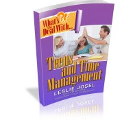 teen time management
