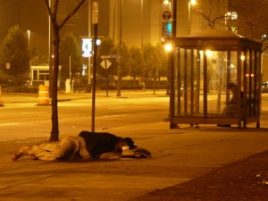 Homeless on the street (photo by Pineapple XVI)