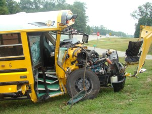 School bus crash 2