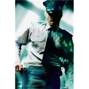 Scary cop