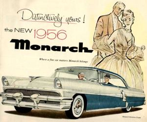 1956 Monarch car advertisement