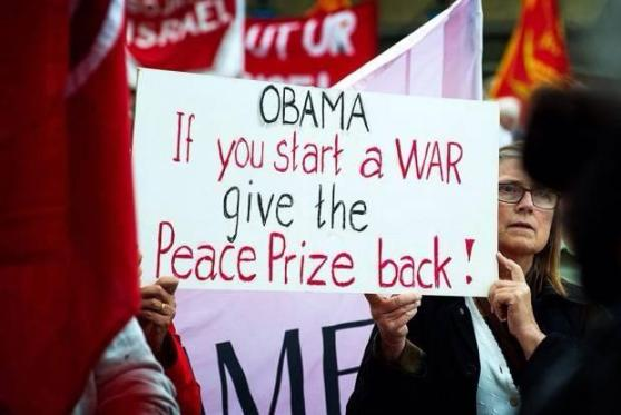 Give peace prize back