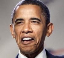 Obama looking stupid