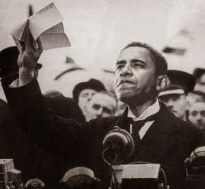Obama as Neville Chamberlain