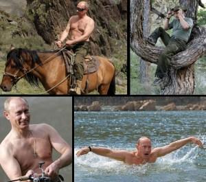 Putin being fit