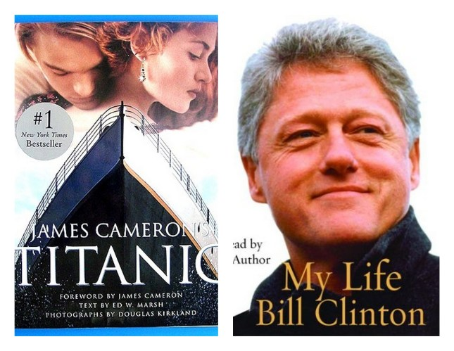 Titantic and Bill Clinton
