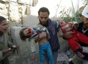 Dead in children in Gaza