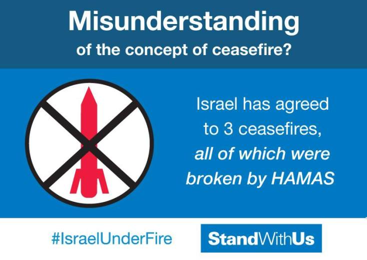 Hamas doesn't understand ceasefire