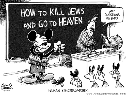 Hamas heaven and kindergarten