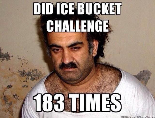 Ice bucket challenge 183 times