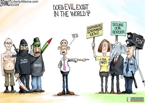 Obama knows who's evil in the world