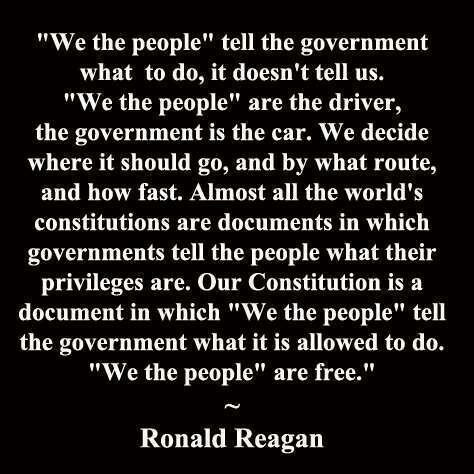 Reagan on we the people
