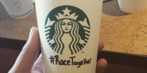 Starbucks race together