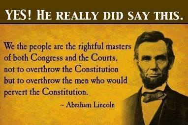 Abraham Lincoln Constitution