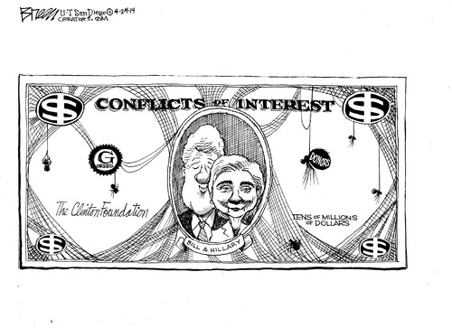 Clinton conflicts of interest