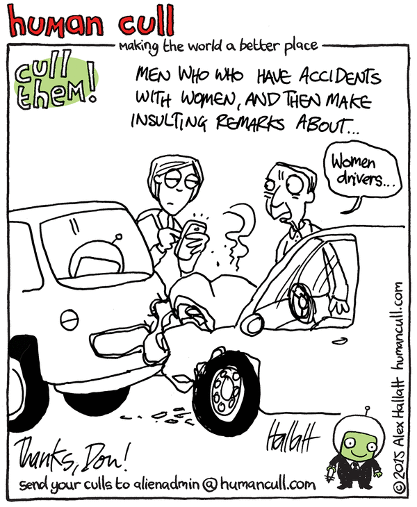 Men who have accidents