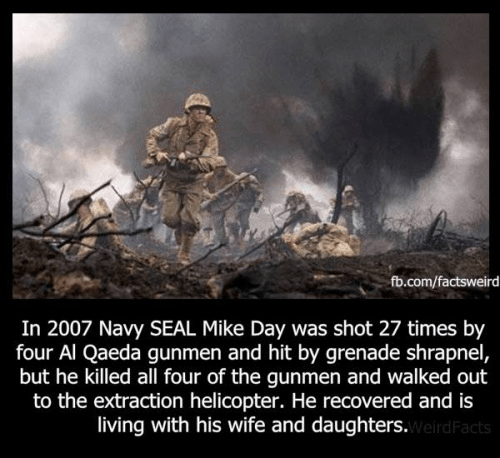 Navy SEAL Mike Day