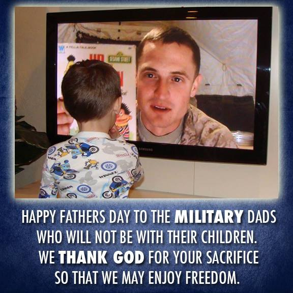 Happy father's day to military dads