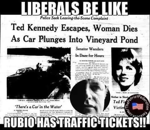 Ted Kennedy Marco Rubio