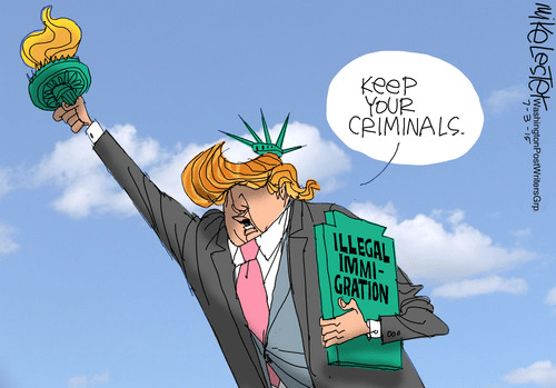 Trump on illegal immigrants