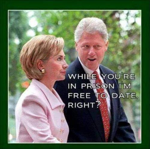 Bill dating and Hillary jail