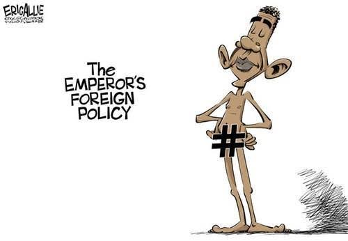 Obama's emperor's foreign policy