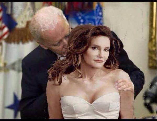 Biden and Caitlyn