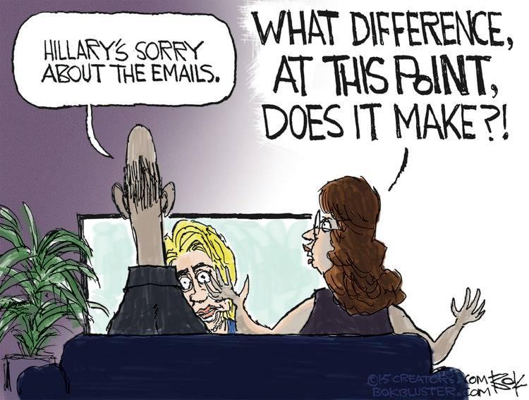 Hillary's apology 2